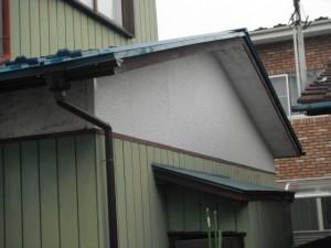 一戸建ての外壁補修工事