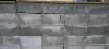 ブロック塀破損状況