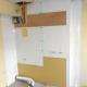 施工中 キッチン