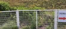 施工後 フェンス