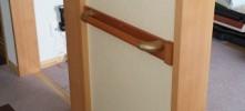 施工前 和室壁手摺
