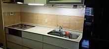 施工後 システムキッチン