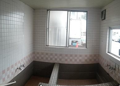施工前 大浴場