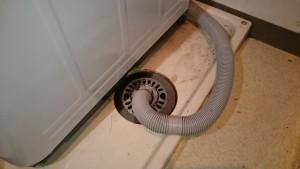 施工後 洗濯機排水詰まり修繕