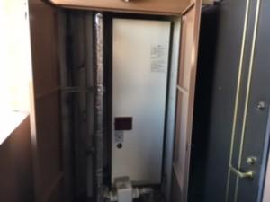 施工前 電気温水器