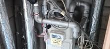 パイプ゚シャフト内排水管交換工事