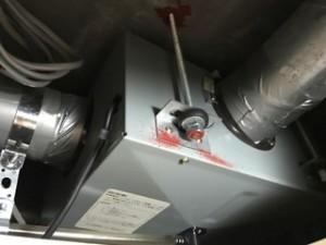 施工前 集中換気扇