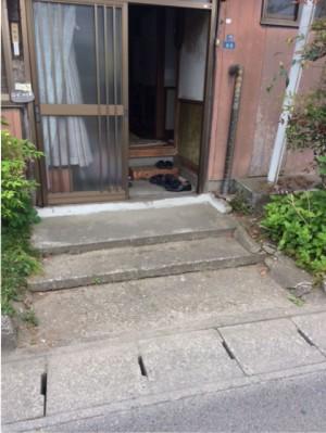 施工前 玄関