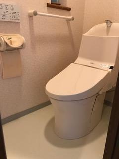施工後 トイレ交換