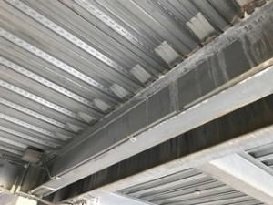 施工前 駐車場天井