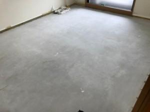 リフォーム施工前 床カーペット