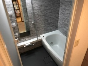 施工後 浴室
