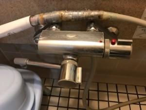 施工前 浴室混合栓