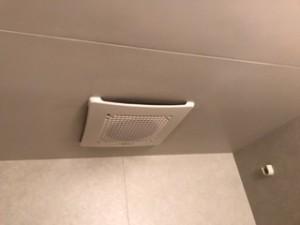 施工後 浴室換気扇