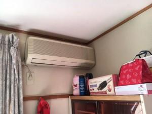 施工前 エアコン