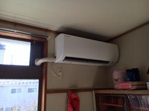 施工後 エアコン交換工事