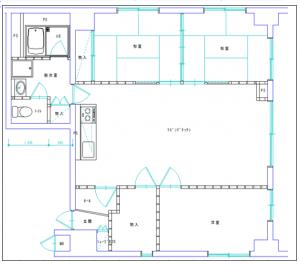 施工前 平面図