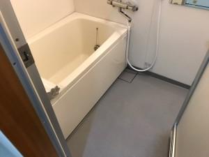施工後 浴室、浴槽・床コーティング