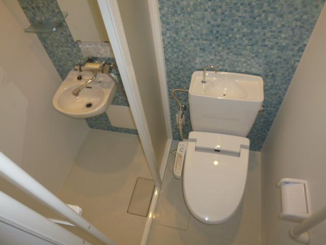 施工後 トイレ・シャワールーム