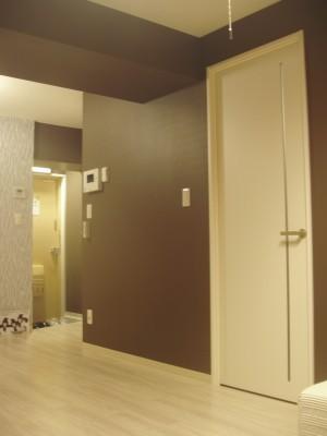 マンションの空室対策リノベーション玄関廻り