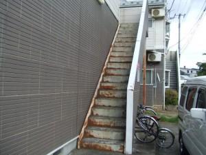 アパート外壁の塗装・修繕 施工前③