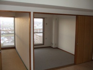 マンションの空室対策リノベーション施工前①