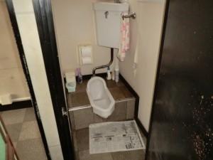 既存トイレ 施工前