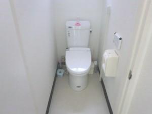トイレ設置 施工後