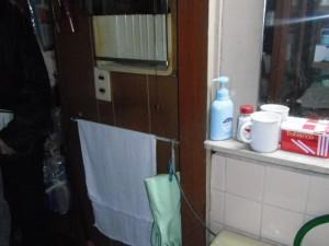 洗面所付近 施工前