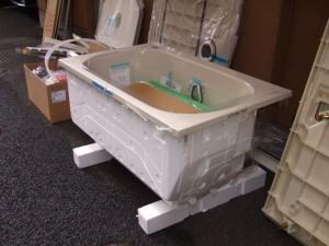 新しい浴槽