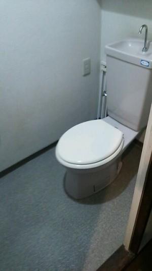 マンションリフォームトイレ 施工前