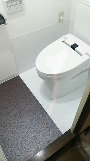 マンションリフォームトイレ 施工後