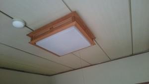LED照明交換 施工前