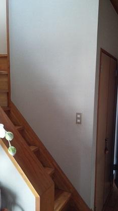 施工前 階段壁側