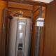 施工後 電気温水器