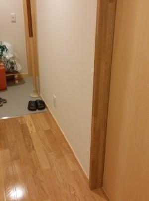 施工前 玄関廊下