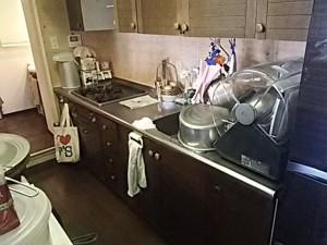 施工前 システムキッチン