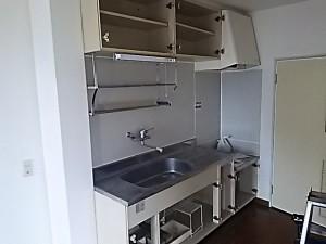 施行前 キッチン