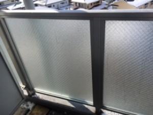 マンション修繕施工後 ガラス交換工事