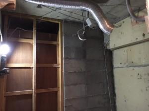 リフォーム施工中 天井解体