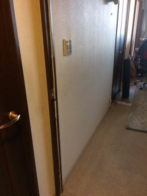 施工前 リビング廊下
