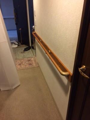 施工後 玄関廊下