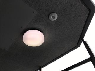 施工後 人感センサー付照明