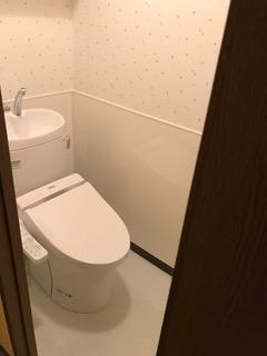 施工後 新規トイレ交換