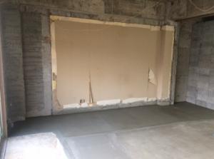 リノベーション事例天井・壁・床の解体