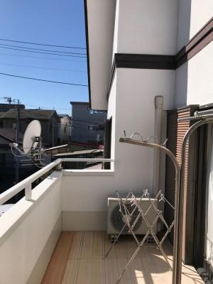 仙台リフォーム 戸建てにサンルームを新設、施工前アップ