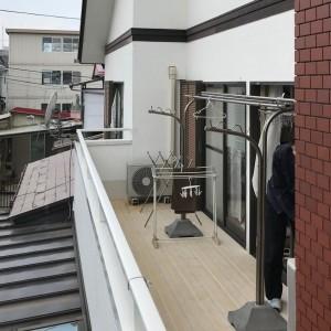 仙台リフォーム 戸建てにサンルームを新設、施工前