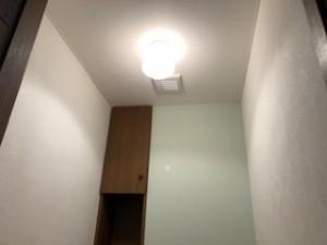 天井壁・クロス貼り替え後